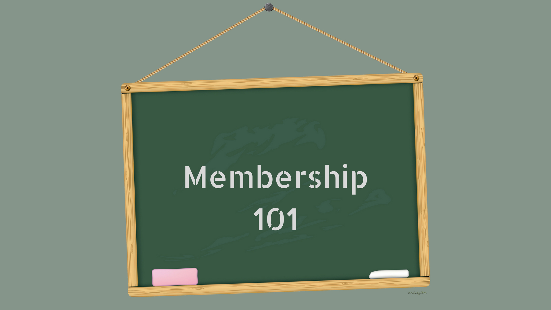 Membership 101: How to Update Your Personal Information