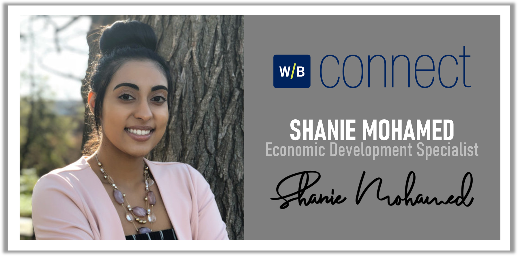 Meet Shanie, Wilkes-Barre Connect's New Economic Development Specialist