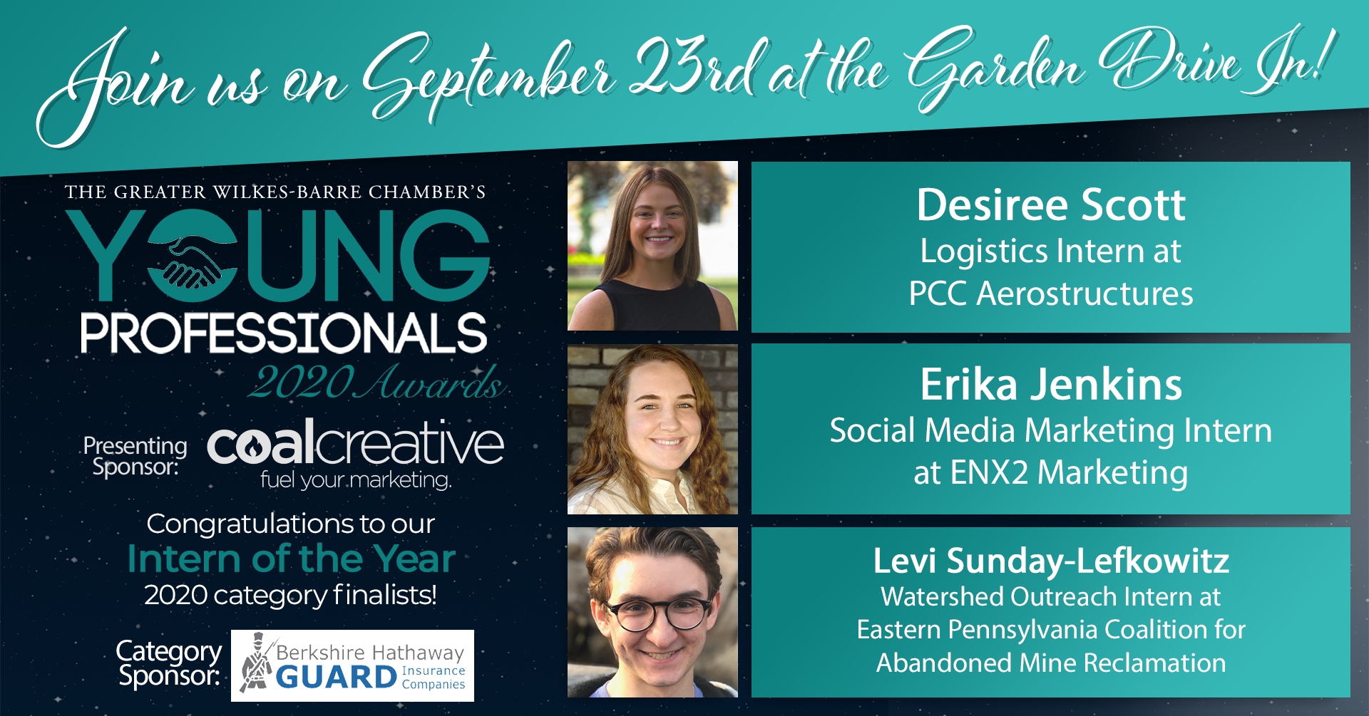 Meet the 2020 Young Professionals Category Finalists for Intern of the Year!