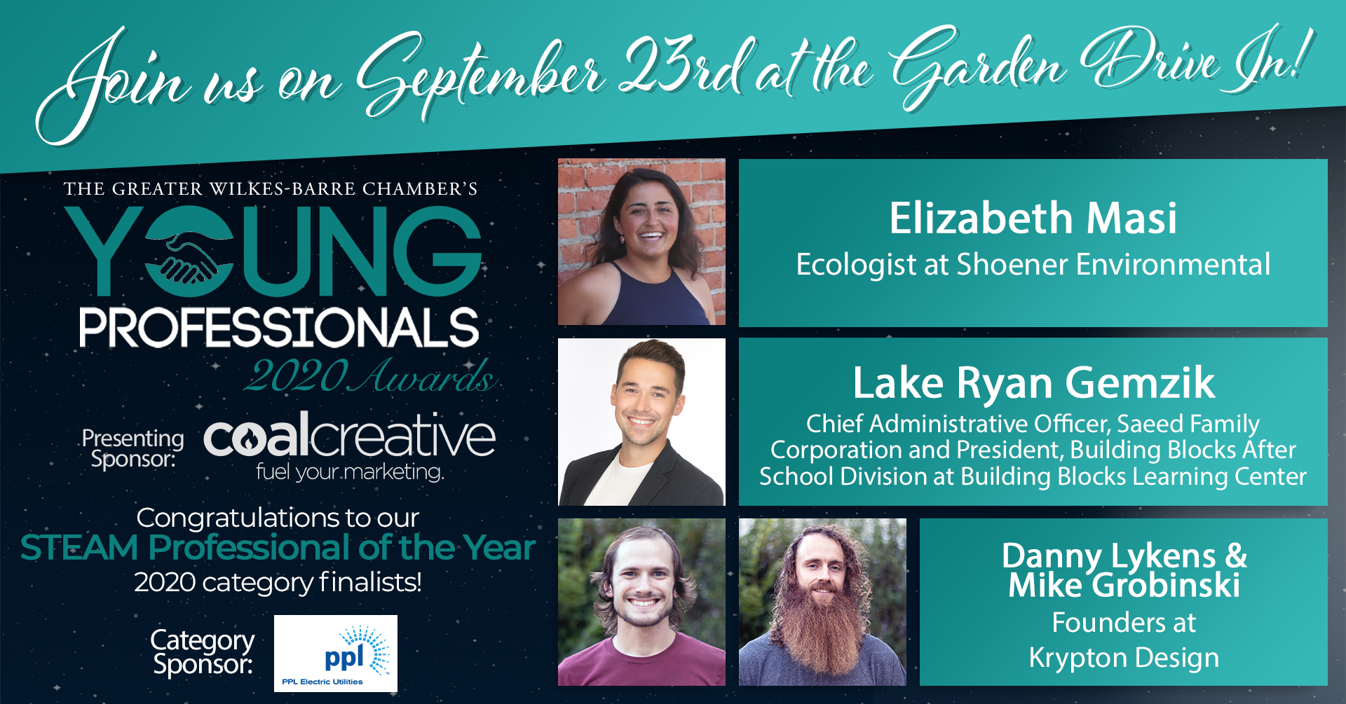 Meet the 2020 Young Professionals Category Finalists for STEAM Professional of the Year!