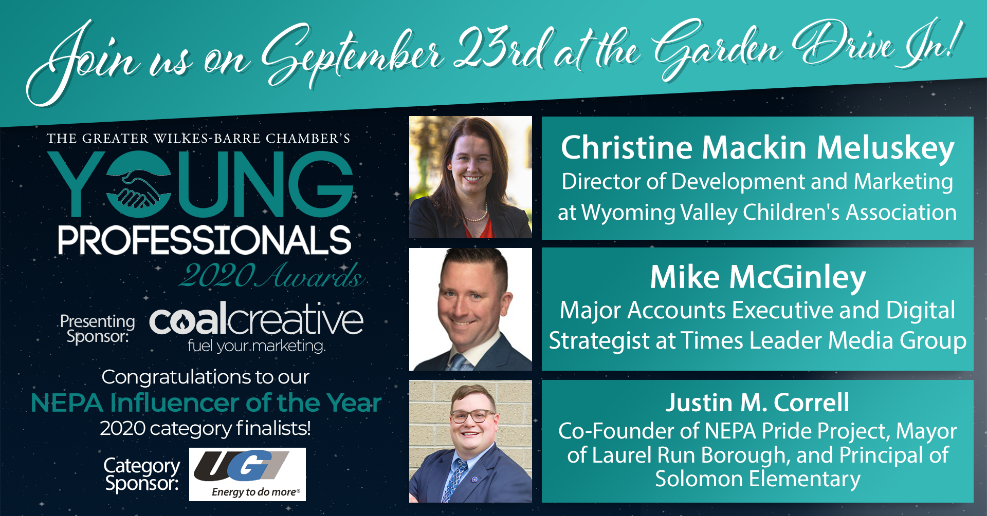 Meet the 2020 Young Professionals Category Finalists for NEPA Influencer of the Year!