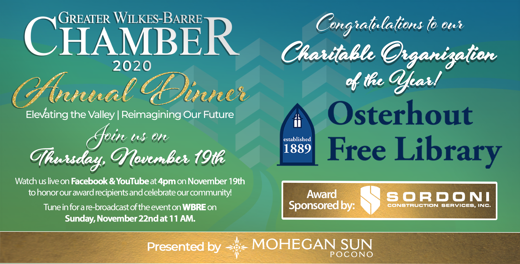 Meet the 2020 Charitable Organization of the Year: The Osterhout Free Library