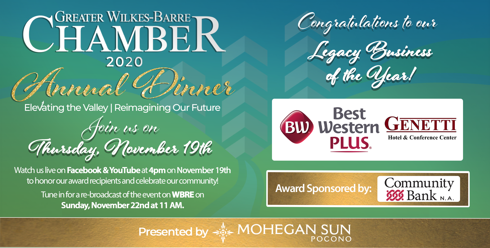 Image for Meet Our 2020 Legacy Business of the Year: Best Western Plus Genetti Hotel