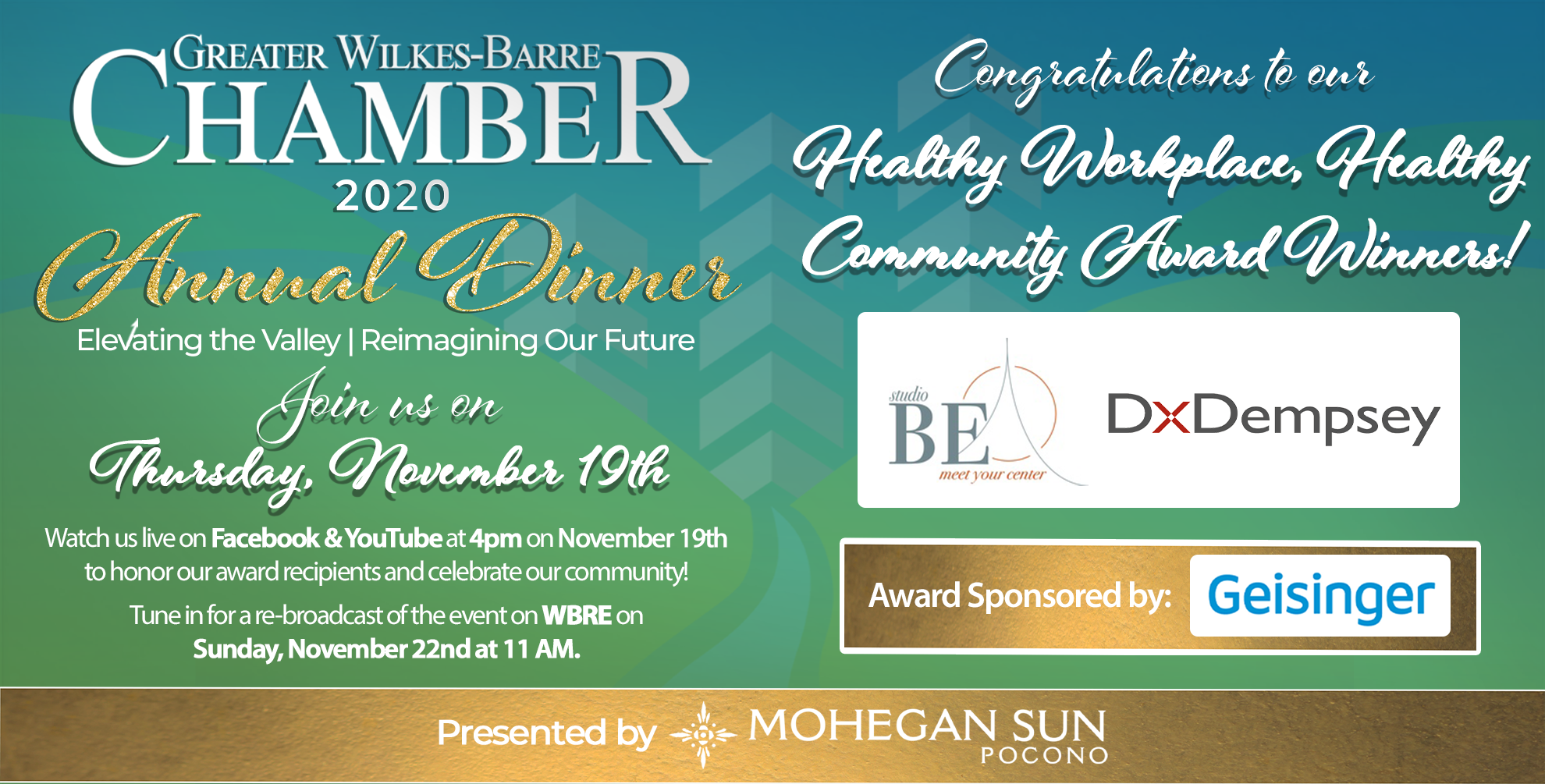 Meet Our 2020 Healthy Workplace, Healthy Community Award Recipients: DxDempsey & studio BE