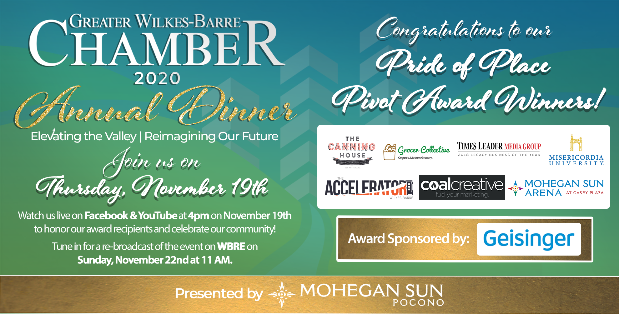 Image for Meet Our 2020 Pride of Place Pivot Award Recipients!
