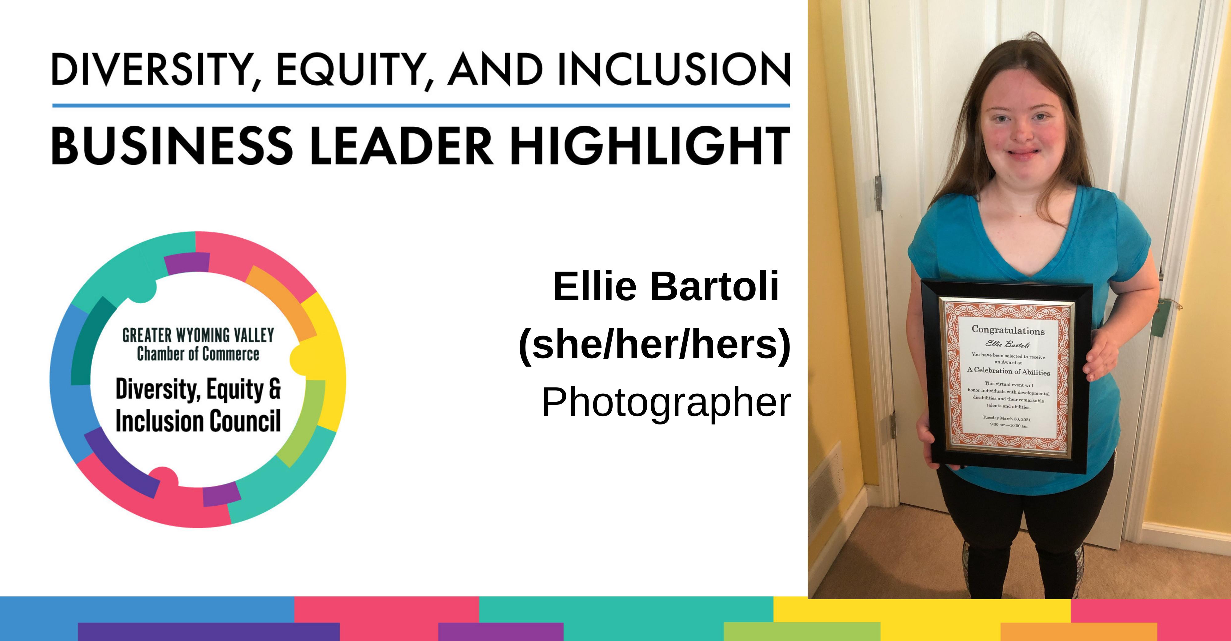 Image for Diversity Month Highlight: Ellie Bartoli