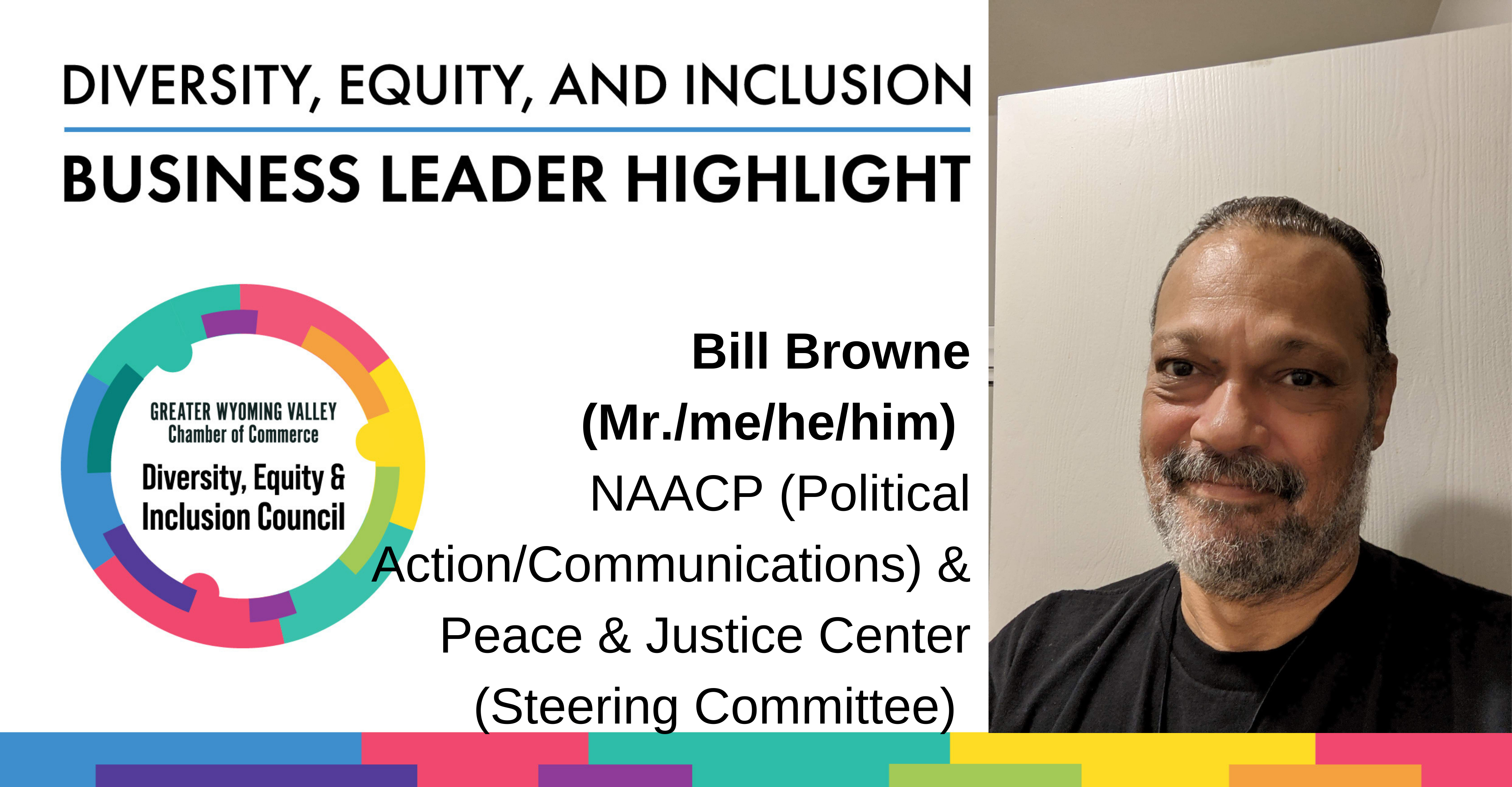 Image for Diversity Month Highlight: Bill Browne