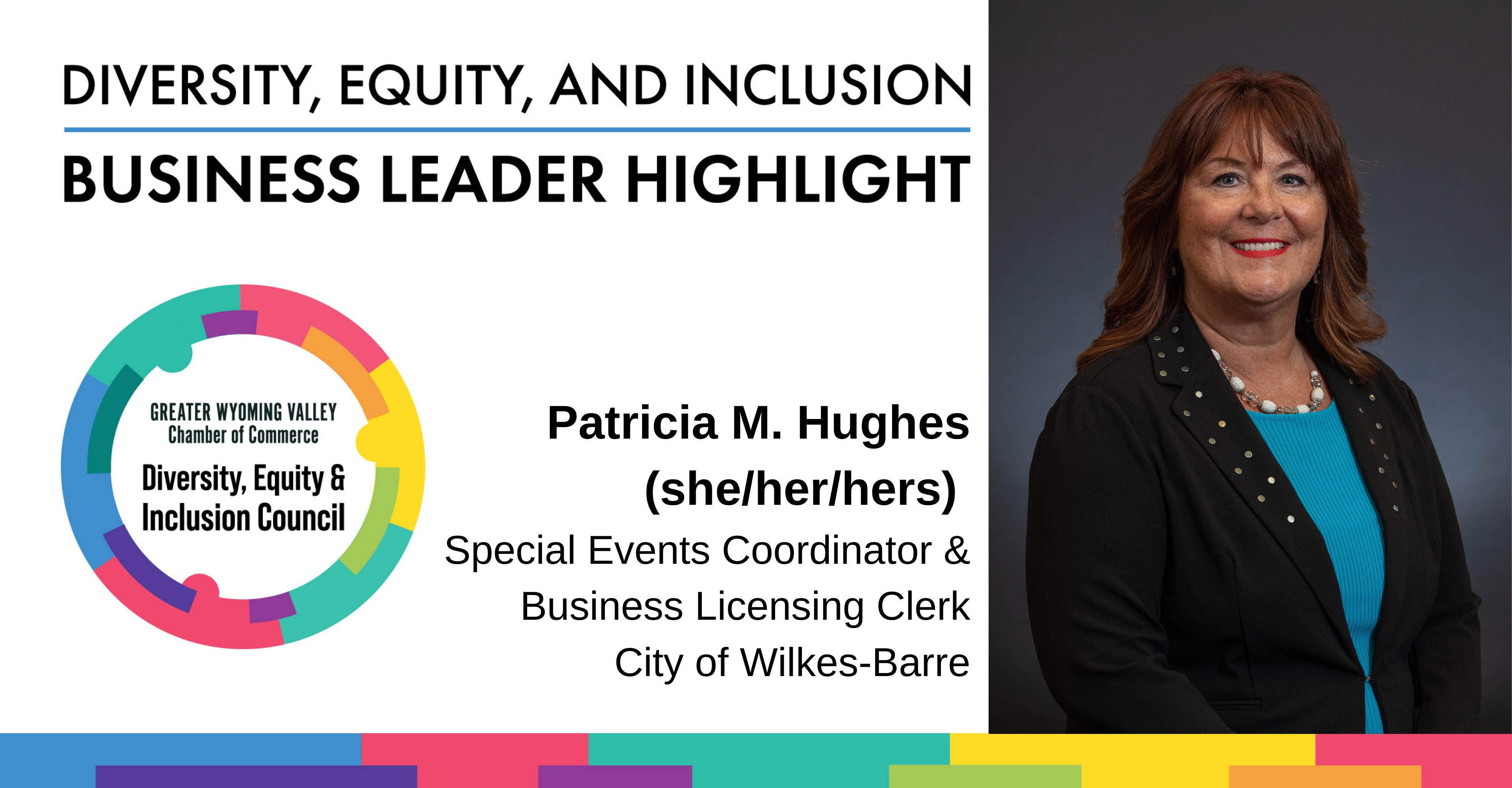 Diversity Month Highlight: Patricia M. Hughes