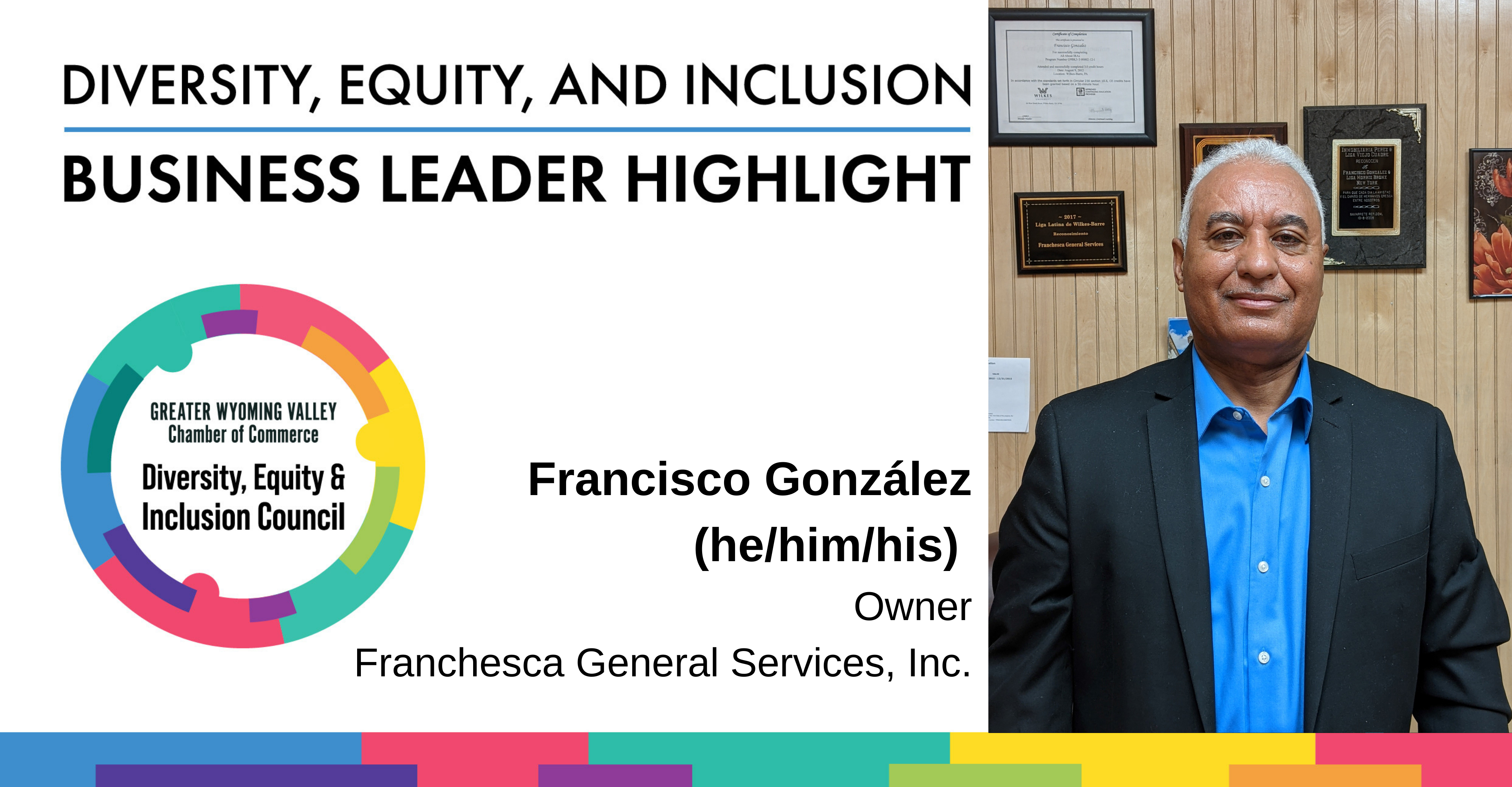Image for Diversity Month Highlight: Francisco González