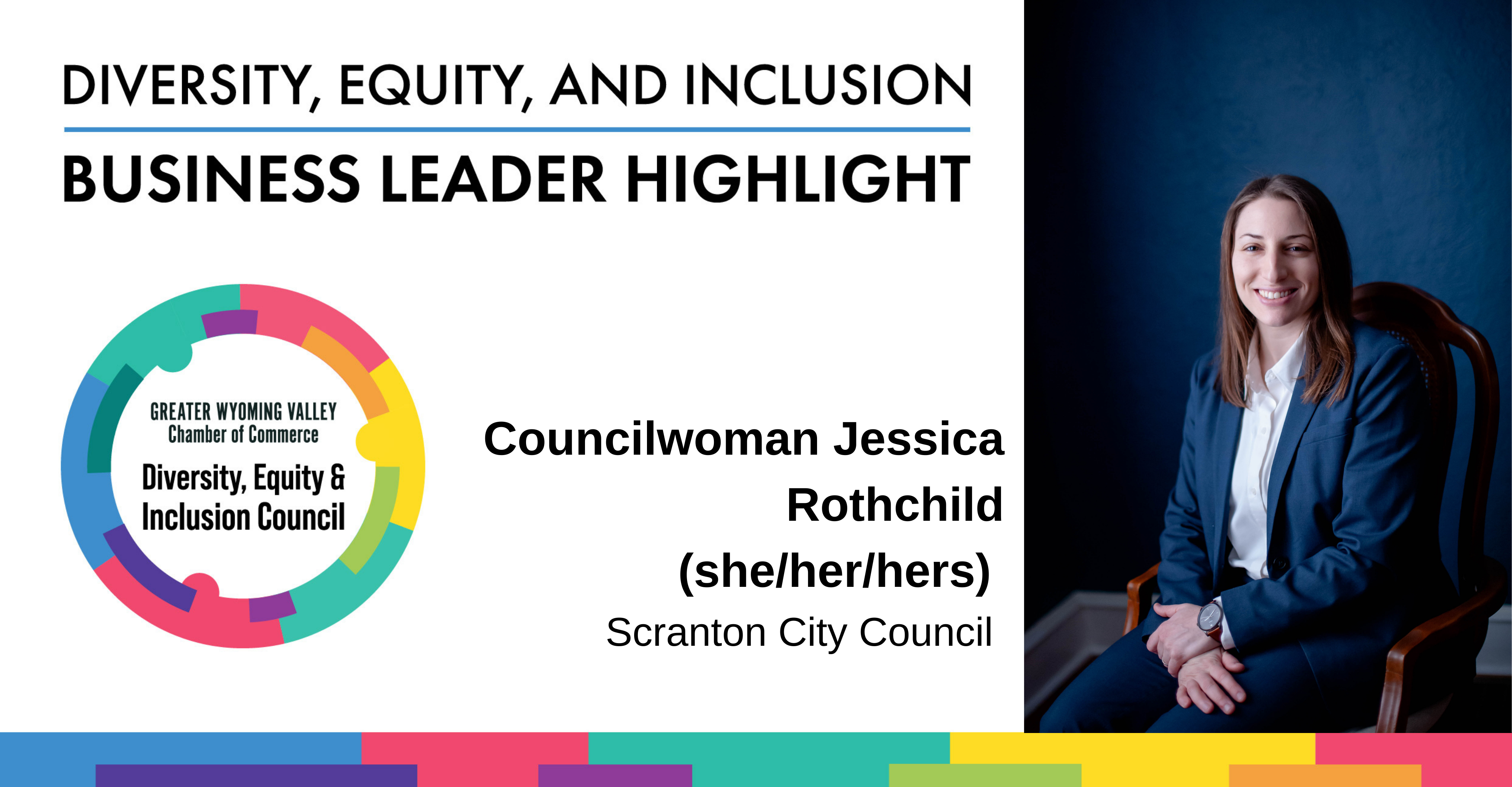 Image for Diversity Month Highlight: Councilwoman Jessica Rothchild