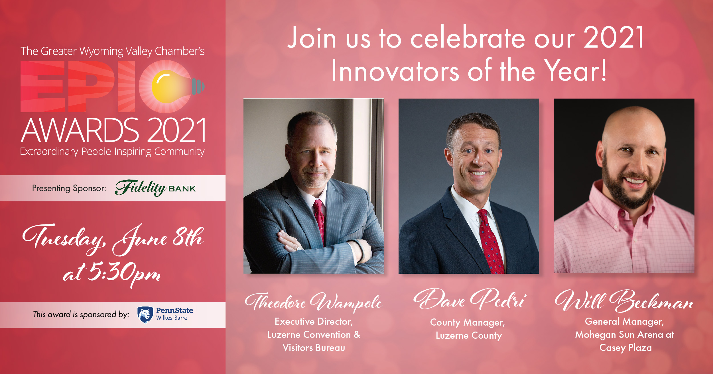 Image for Meet the 2021 Innovators of the Year: Theodore Wampole, Dave Pedri, and Will Beekman!
