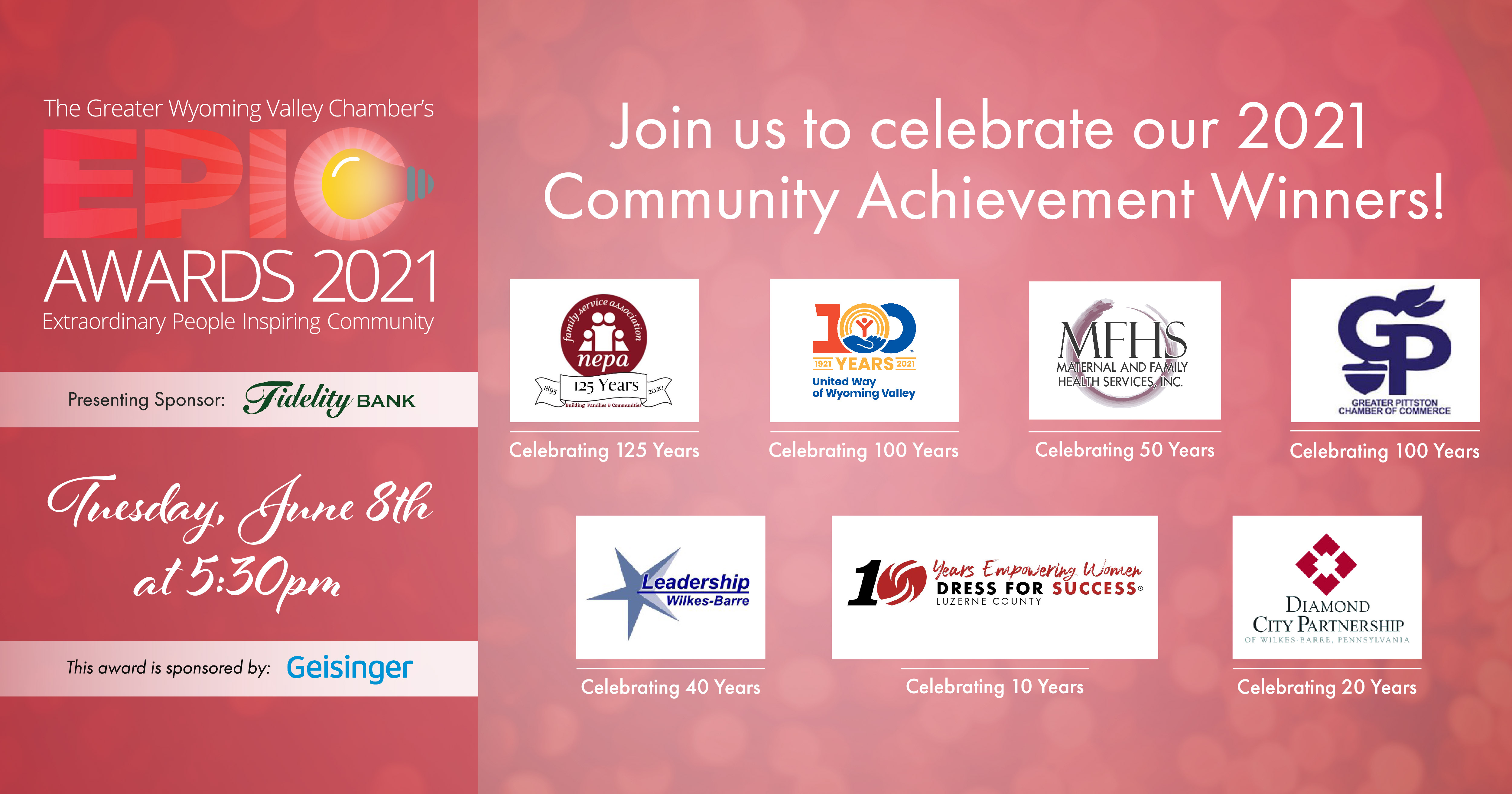 Image for Meet Our 2021 Community Celebration Award Recipients!