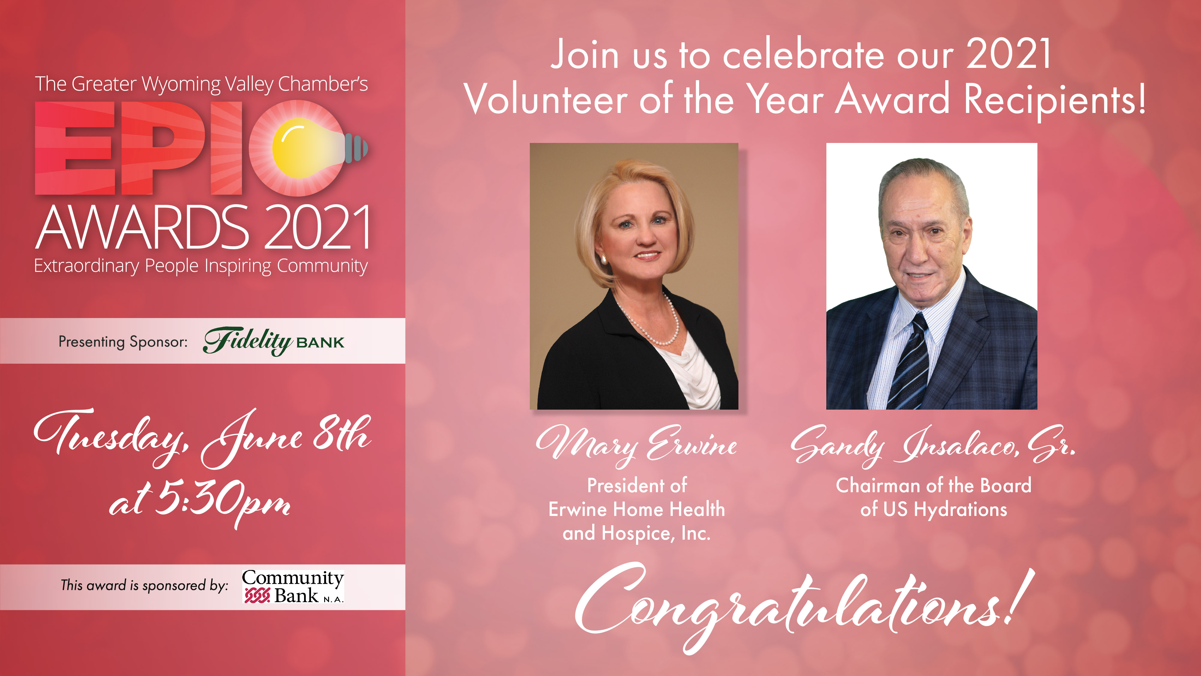 Image for Meet Our 2021 Volunteers of the Year: Mary Erwine & Sandy Insalaco!