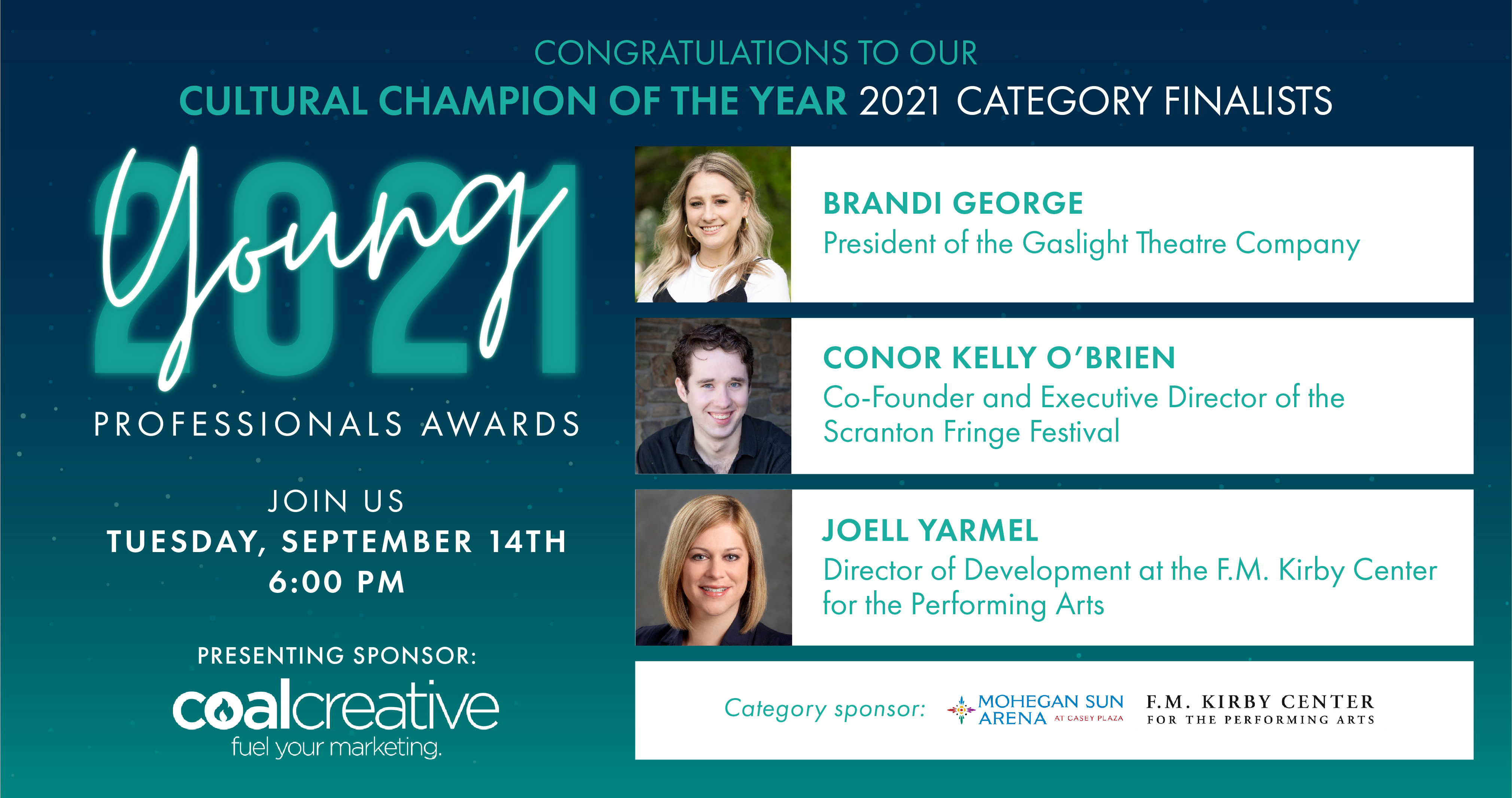 Image for Meet the 2021 Category Finalists for Young Professional Cultural Ambassador of the Year!
