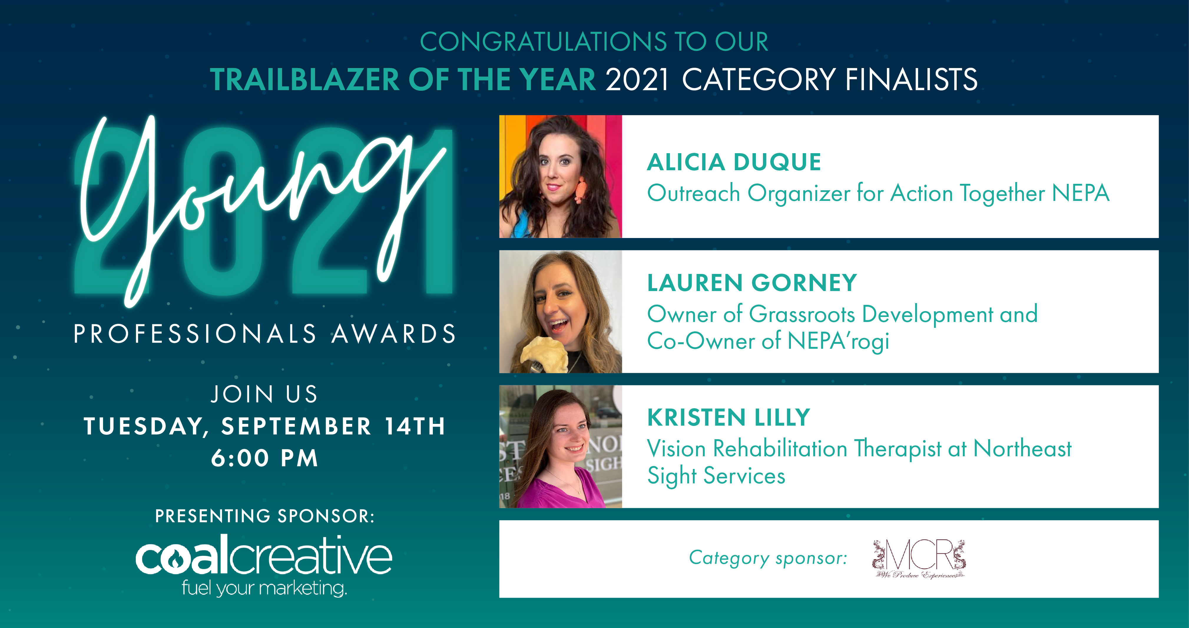 Image for Meet the Category Finalists for Young Professional Trailblazer of the Year!