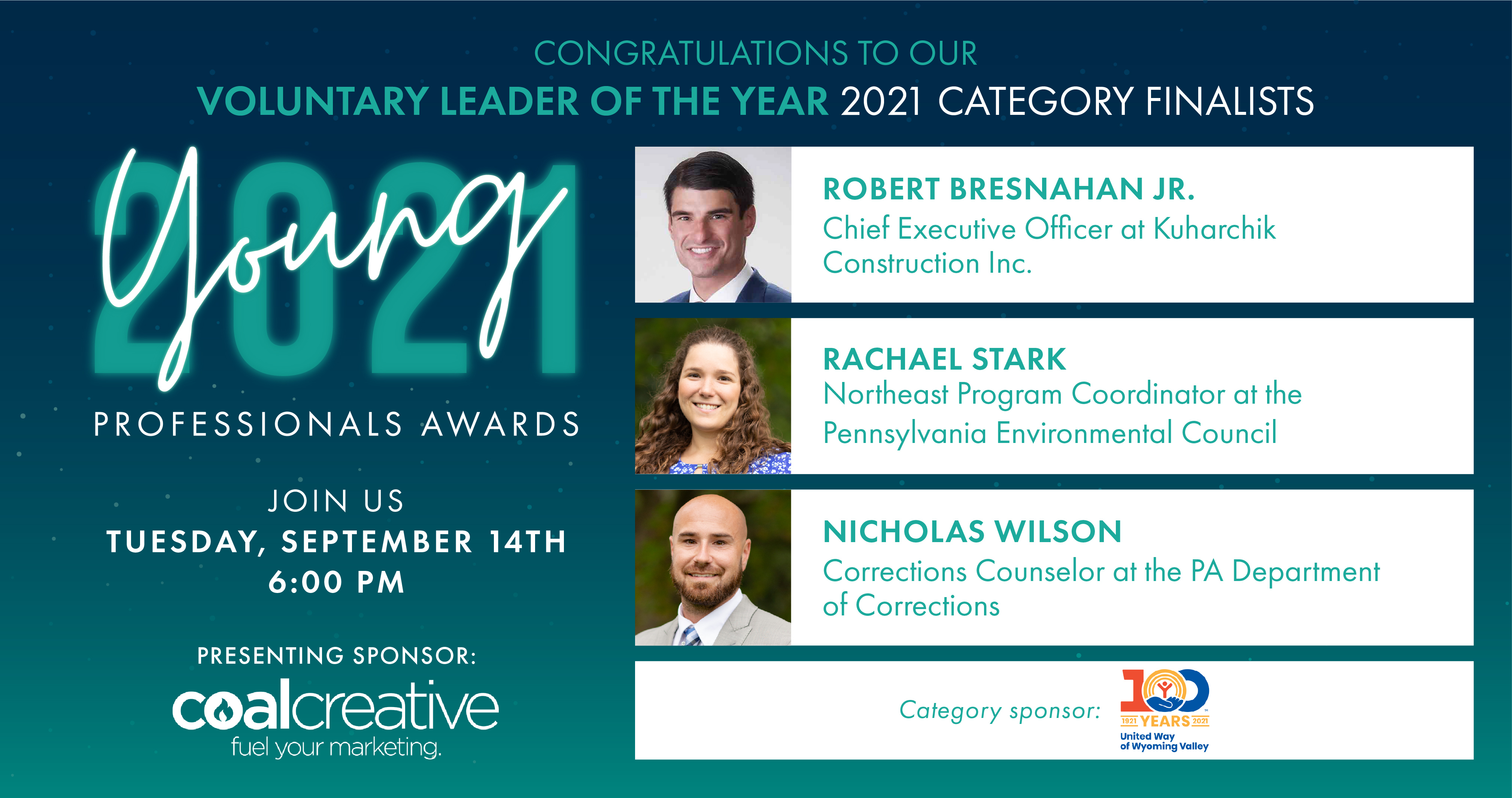 Image for Meet the 2021 Category Finalist for the  Young Professional Voluntary Leader of the Year!