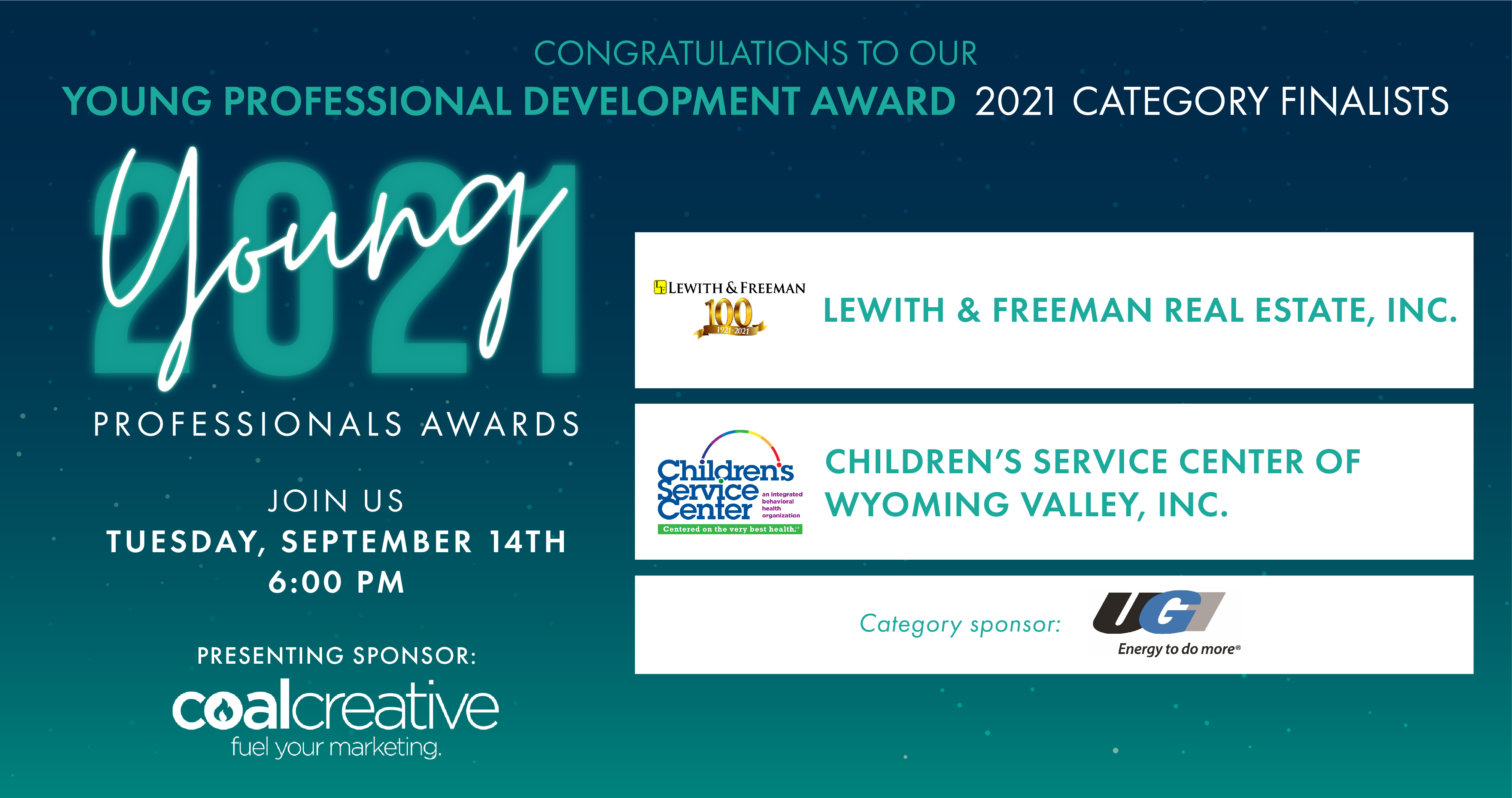 Meet the 2021 Category Finalists for the Young Professional Development Award!
