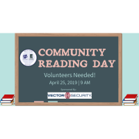 23rd Annual Community Reading Day Volunteers Needed