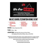 Jack Williams Hiring Event