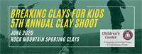 Breaking Clays for Kids 5th Annual Clay Shoot