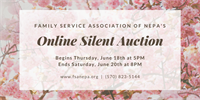 Online Silent Auction benefiting Family Service Assoc. of NEPA