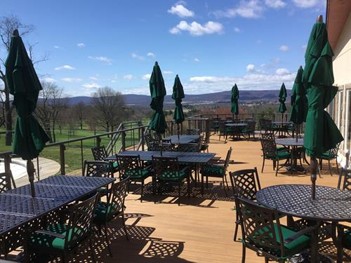 Outdoor Patio Dining and Event Space