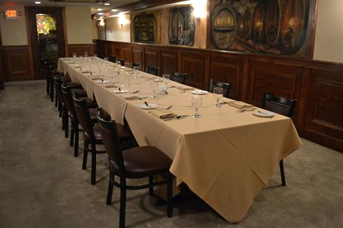 private wine room