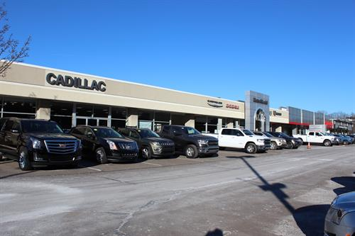 MotorWorld Showrooms - Cadillac, Chrysler, Dodge, Jeep, RAM, Toyota, Mercedes-Benz
