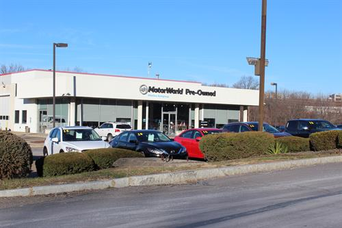 MotorWorld Preowned Department