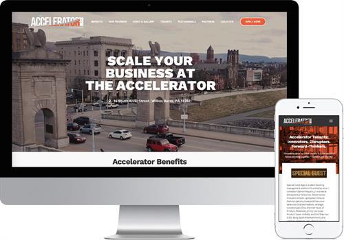The Accelerator Website