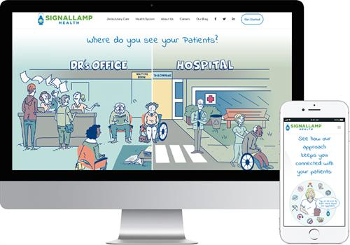 Signallamp Health Website