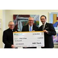 M&T Bank Donates EITC Proceeds in Support of King's College's  Innovative Educational Programs