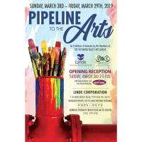 LINDE CORPORATION ART EXHIBITION ''PIPELINE TO THE ARTS'' AN EXHIBITION OF THE ARTWORKS BY MEMBERS