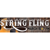 Steamtown String Fling Returns Friday March 15 Featuring an All-Star Lineup!