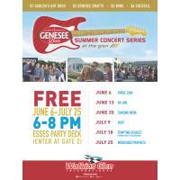 Watkins Glen International and Genesee Brewing Company host free, six-date summer concert series