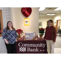 Help Restock Local Food Pantries with Community Bank N.A