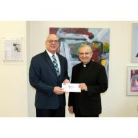 Waste Management Donates EITC Proceeds in support of King's College's innovative educational program
