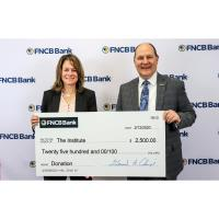 FNCB Bank Supports The Institute for Public Policy & Economic Development with a $2,500 Donation