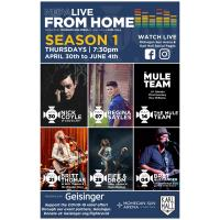 """LOCAL LIVE ENTERTAINMENT VENUES UNITE TO  HELP LOCAL/REGIONAL MUSIC SCENE: """"NEPA LIVE FROM HOME"""" presented by Geisinger to  host first online episode this Thursday night"""