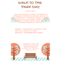 2018 Chamber's Walk to the Park