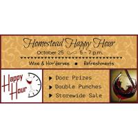 Homestead Happy Hour