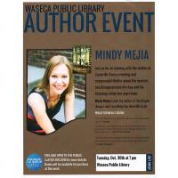 Evening with the Author: Mindy Mejia