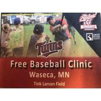 Twins Baseball Clinic (FREE!)