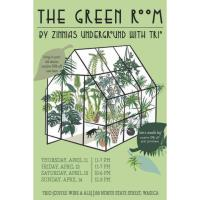 The Green Room by Zinnias Underground with Trio