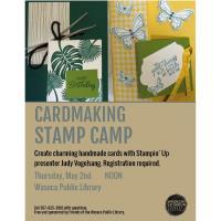 Cardmaking Stamp Camp