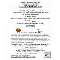 Waseca Fire Department Relief Association's Annual Fish Fry