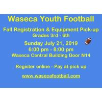 Waseca Youth Football Registration