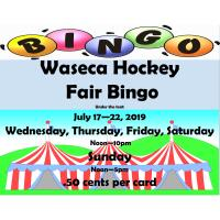 Waseca Hockey Fair Bingo