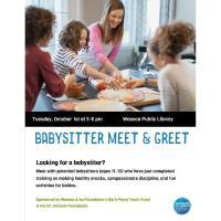 Babysitter Meet & Greet- Waseca Public Library