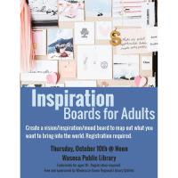 Inspiration Boards for Adults-Waseca Public Library